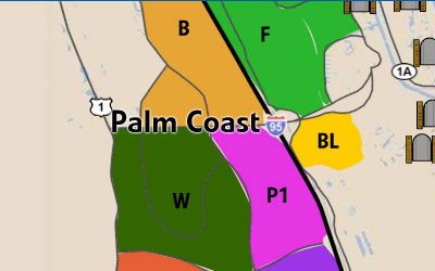 Click here to learn about the neighborhoods of Palm Coast