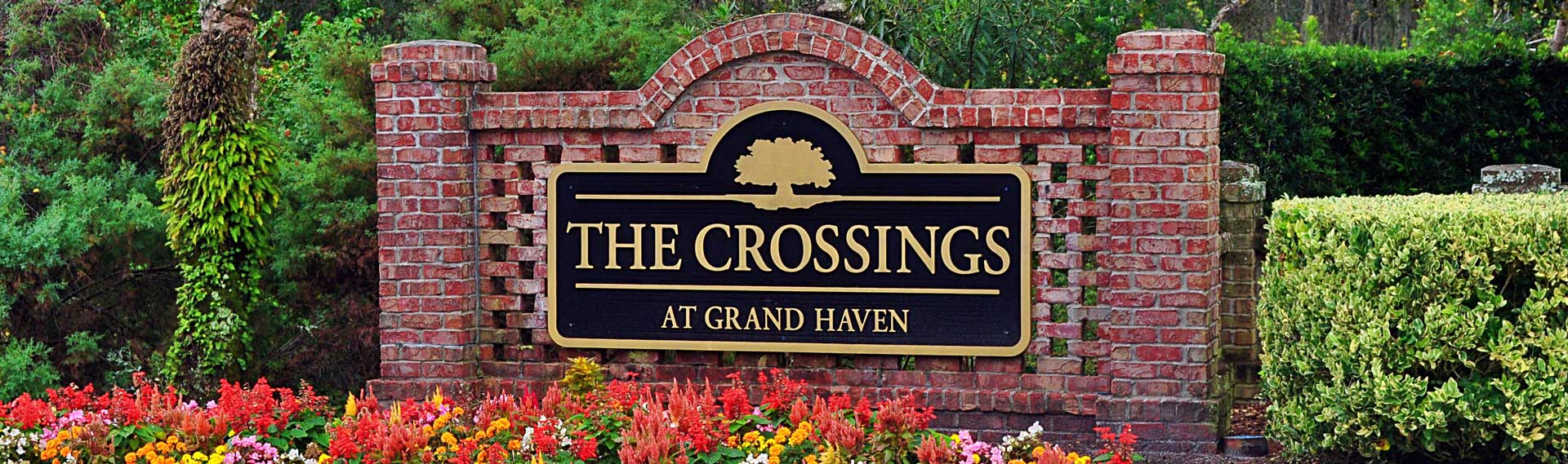 The Crossings at Grand Haven Monument Sign